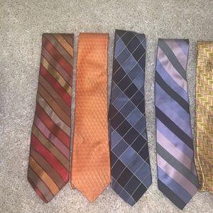 5 Ike Behar 7 Fold Ties